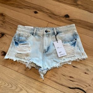 2/$25-BRAND NEW JEAN SHORTS